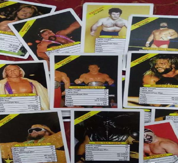 1991 wwf trump cards by impex
