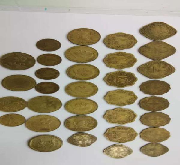 Bronz copper coins