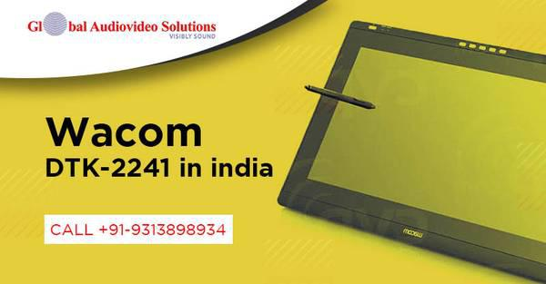 Buy wacom dtk-2241 in india   global audio video solutions -
