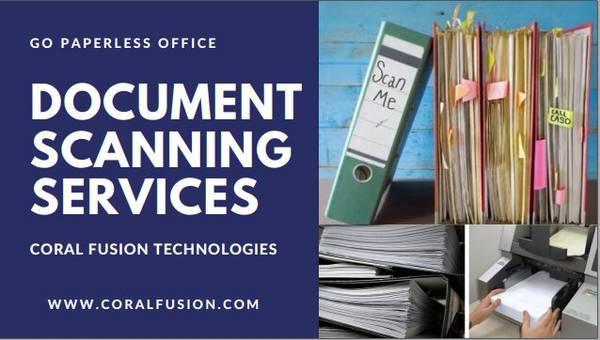 Document Scanning Services - automotive services
