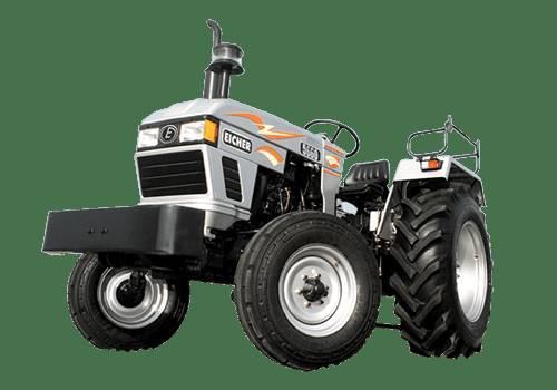 EICHER 5660 v/s MAHINDRA ARJUN 555 DI - auto parts - by