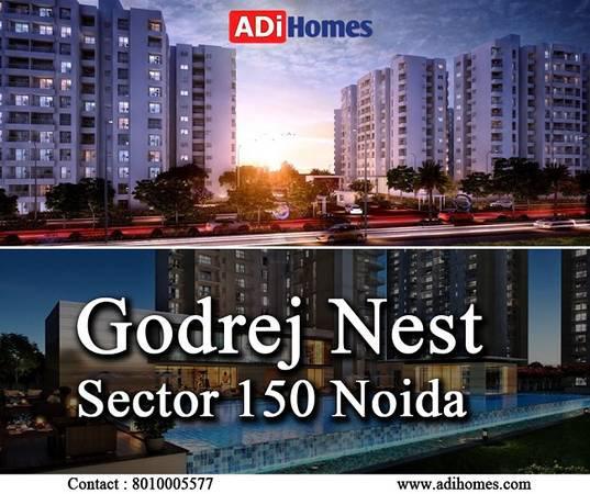 Godrej Nest Sector 150 Noida - real estate services