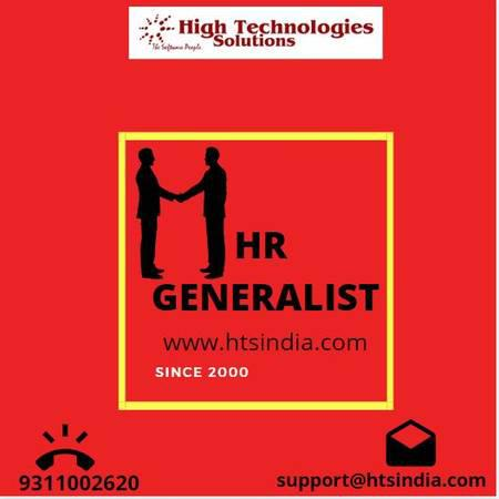 HTS India is quality based hr generalist training center in