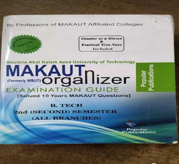 Makaut organizer ( examination guide )