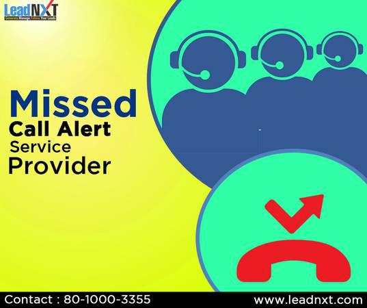 Missed Call Alert Service Provider - computer services