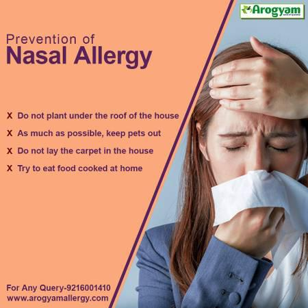 Nasal Allergy Treatment - beauty services