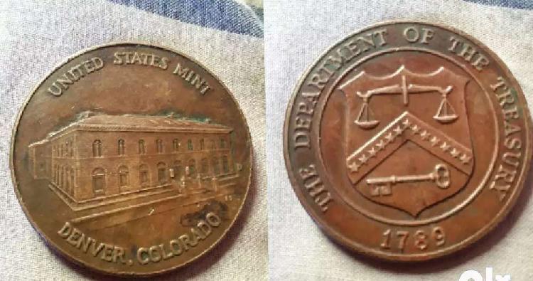 Old antique coin usa mint condition coin very rare