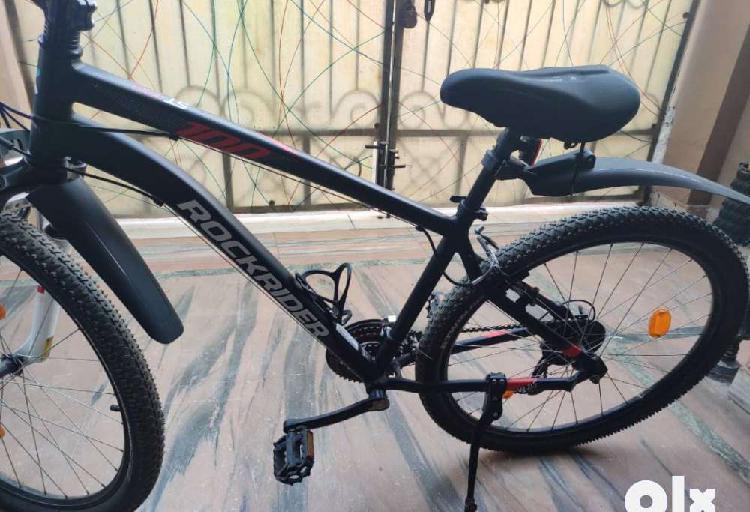 Rockrider st100 mountain bike