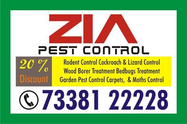 Zia pest control services - event services