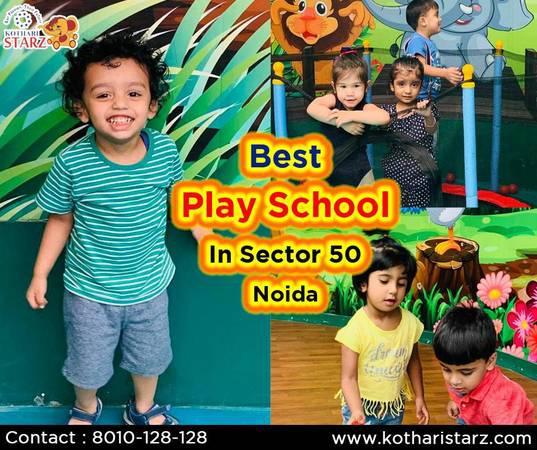 Best play school in sector 50 noida - creative services