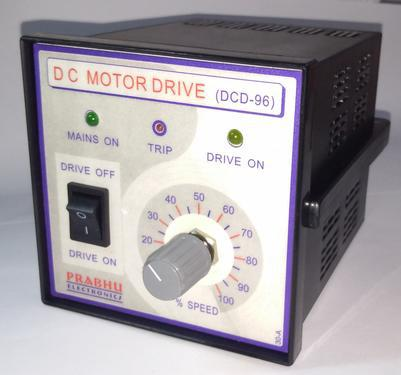 Dc motor drive speed controller