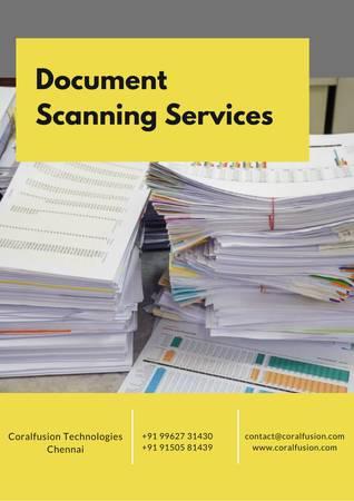 Document scanning chennai - computer services