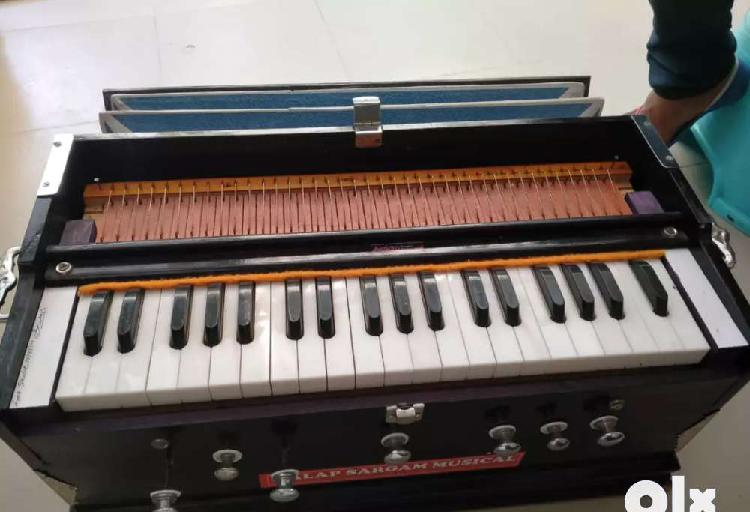 Double reeds harmonium with amazing sound quality with