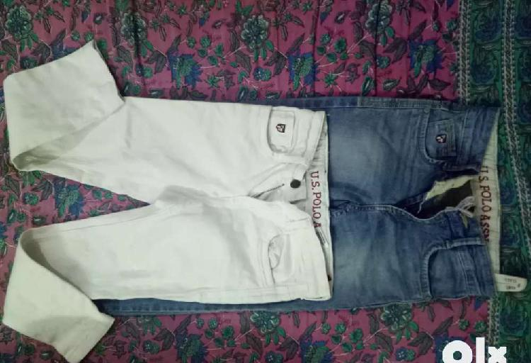 Jeans u s polo assn. size 6-7 year