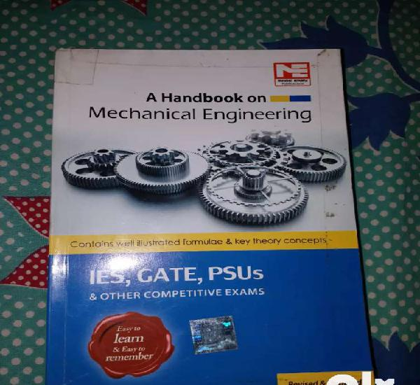 Mechanical engineering hand book and others