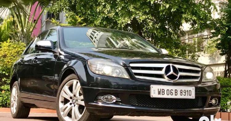 Mercedes-benz c-class 230 avantgarde, 2009, diesel