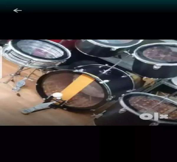 New branded 7pcs drum kit with tools amazing sound quality