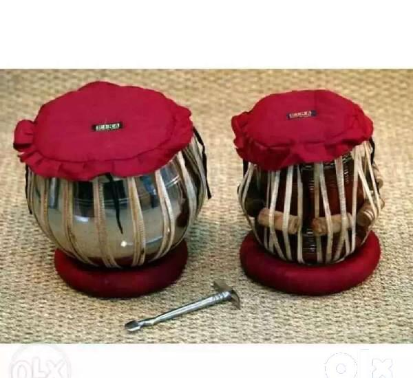New tabla pair in steel body with sheesham wood tabla