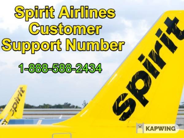 Spirit Airlines Customer Service Number for Online Flight