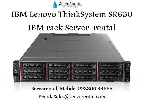 Rental of it hardware| ibm lenovo thinksystem sr550 server