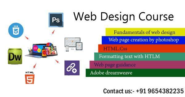 Best web designing course in uttam nagar - lessons &