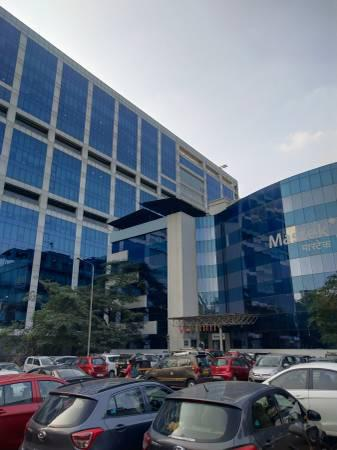 Mahape rupa solitaire 2444 sq.ft furnished office for rent -