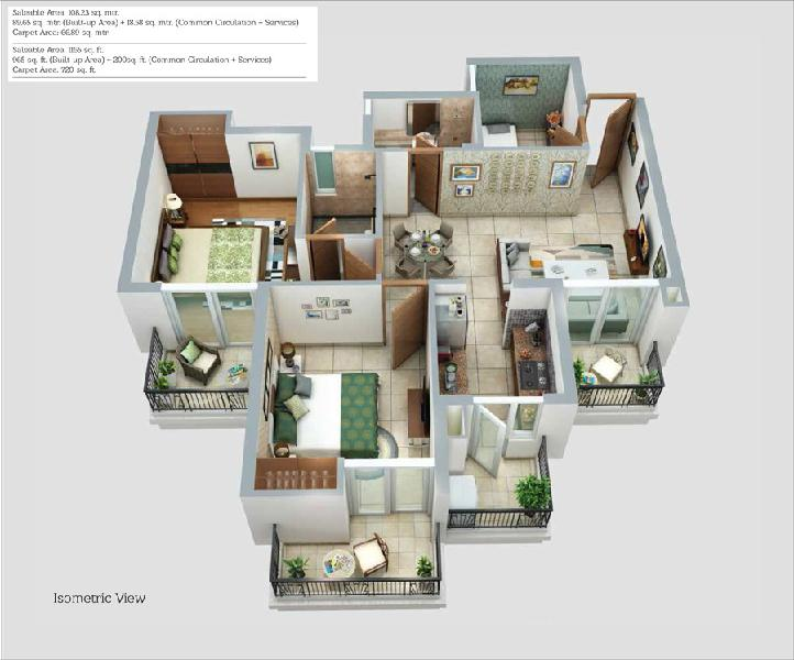 Ats happy trails 2 3bhk homes in sector 10 gr noida