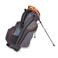 Bag boy golf chiller hybrid stand bag (navy/charcoal/orange)