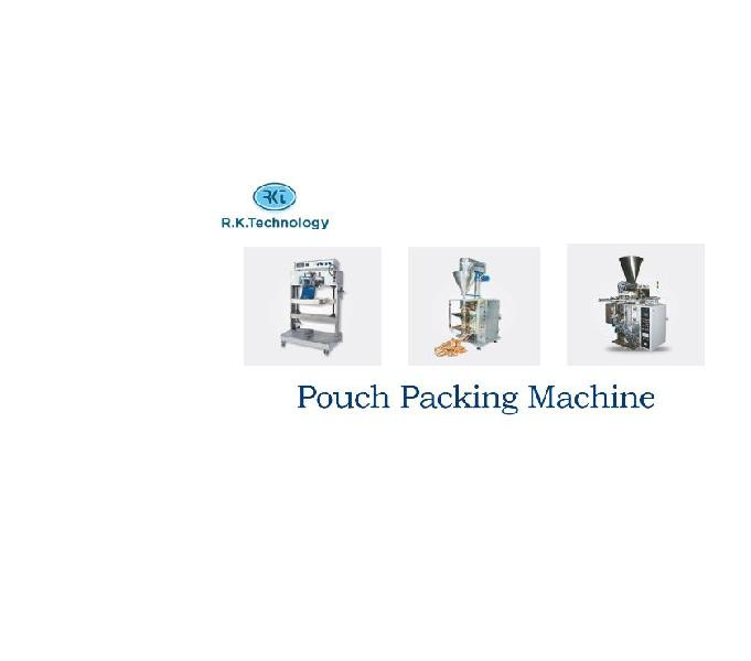 Pouch packing machine pouch packing machine