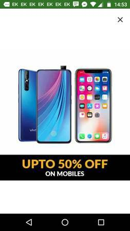 Upto 50% off on mobiles - cell phones - by dealer