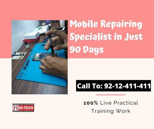 Advanced Mobile Repairing Course in Karol Bagh - lessons &
