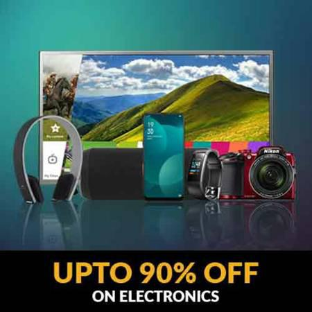 Upto 90 percent off on electronics - electronics - by dealer