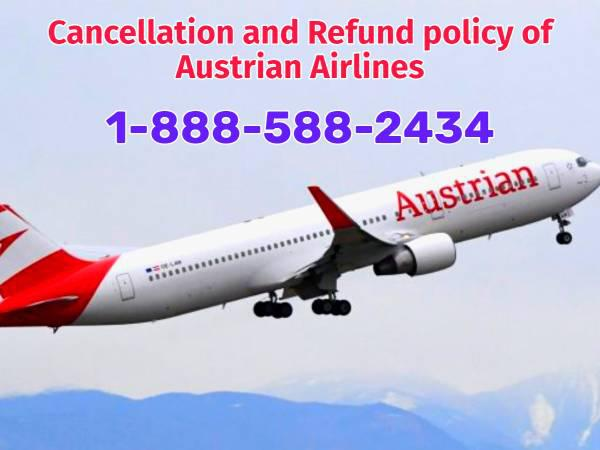 Cancellation and refund policy of austrian airlines -