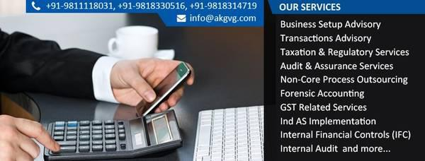 Best auditing and taxation services in delhi india | akgvg &