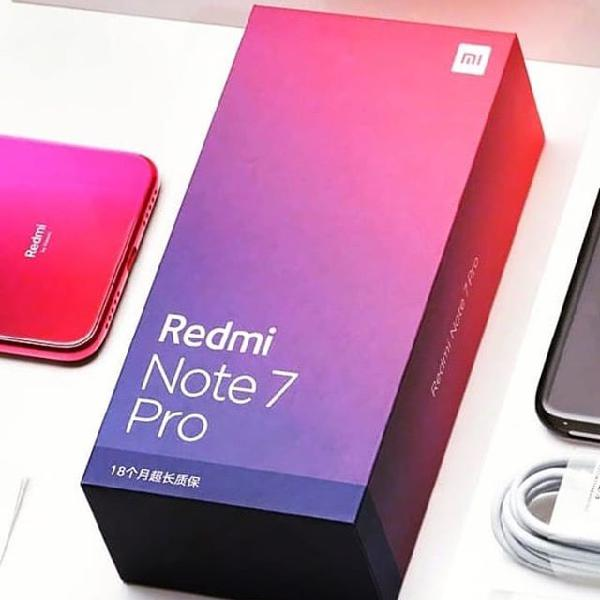 Brand new xiaomi redmi note 7 and 7pro