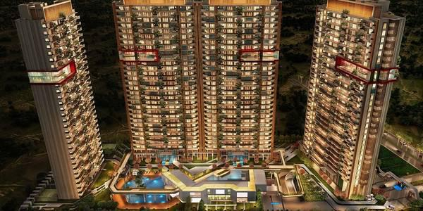 County 107 Noida offers luxury 4 and 5BHK flats - real