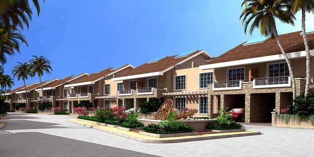 K Raheja Viva - 4 BHK luxury row houses on sale