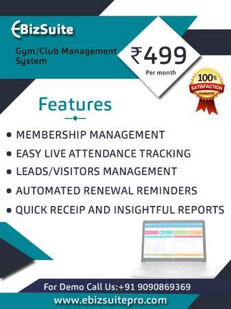 Gym Management Software - computer services