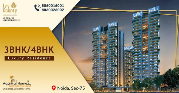 ivy county noida floor plan | ivy county sector 75 noida