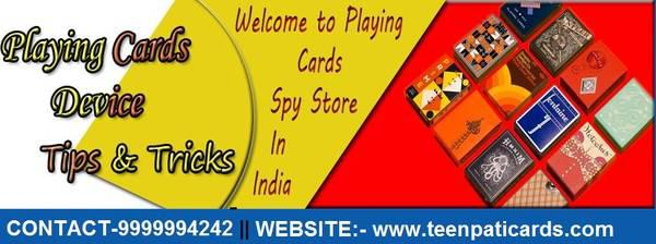 Cheating playing cards device in india - toys & games - by