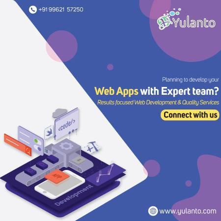Customize web application development services company