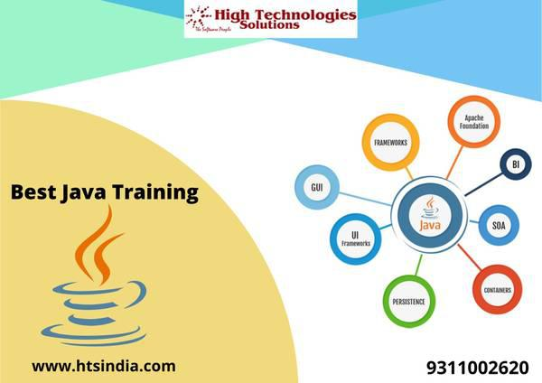 Grow career in java training center in south delhi - lessons