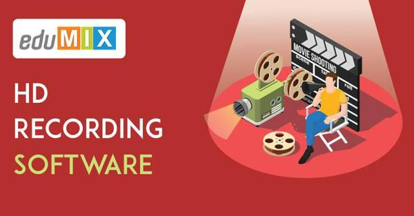 Hd recording software– edumix software - computer services