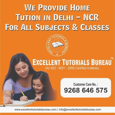 Home tuition in east delhi - lessons & tutoring
