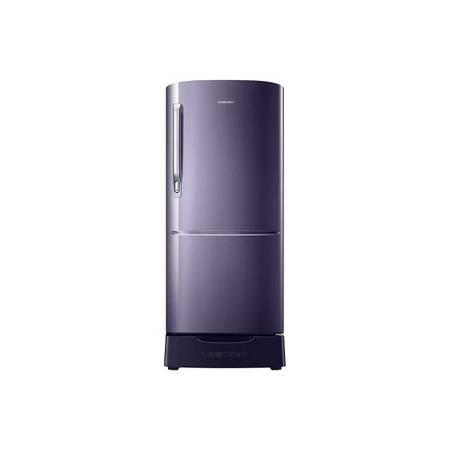Samsung rr20r182zut double door refrigerator - electronics -
