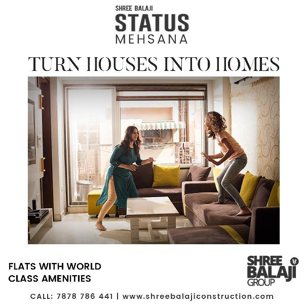 3 bhk luxurious apartments for sale in mehsana