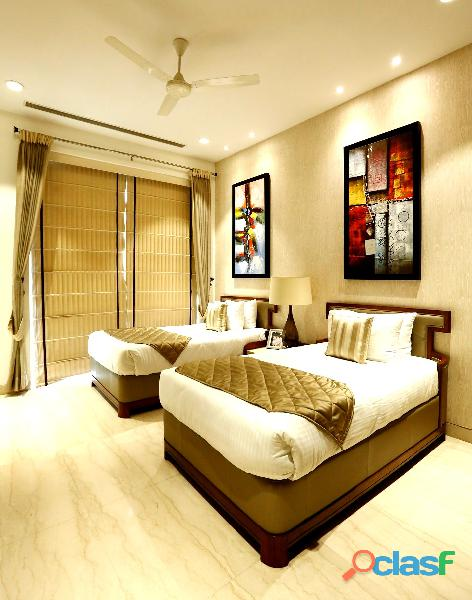 Ambience creacions : luxury 4bhk+sq flats at sector 22