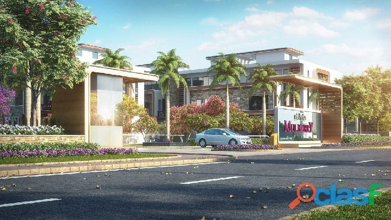 Rishita Mulberry – Ultra luxury ready to move in villas at Sushant Golf City 3
