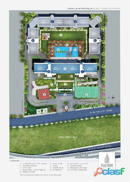 Suncity Platinum Towers: 3 & 4 BHK Luxury Residences