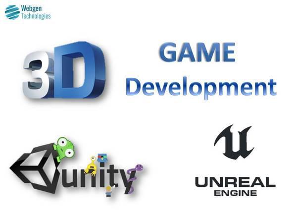 Develop best 3d games at webgen technologies - creative